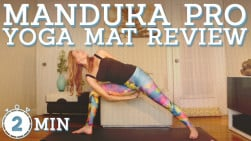 Best in Hot Yoga Mats | Manduka Pro Yoga Mat Review | Is it Really Non-Slip?