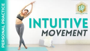 Personal practice Intuitive movement