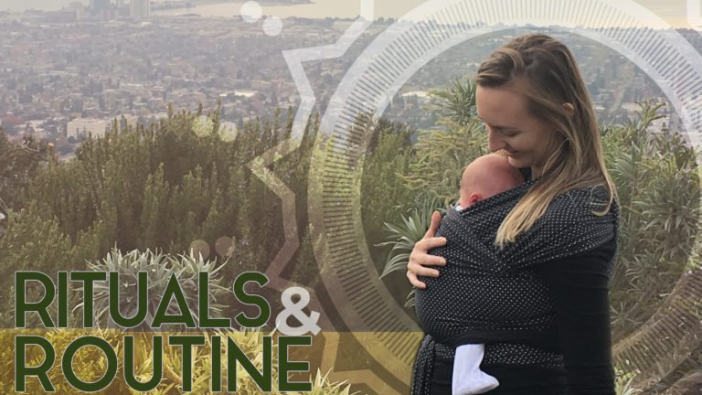 Rituals & Routines to Stabilize Lower Chakras as a New Mom