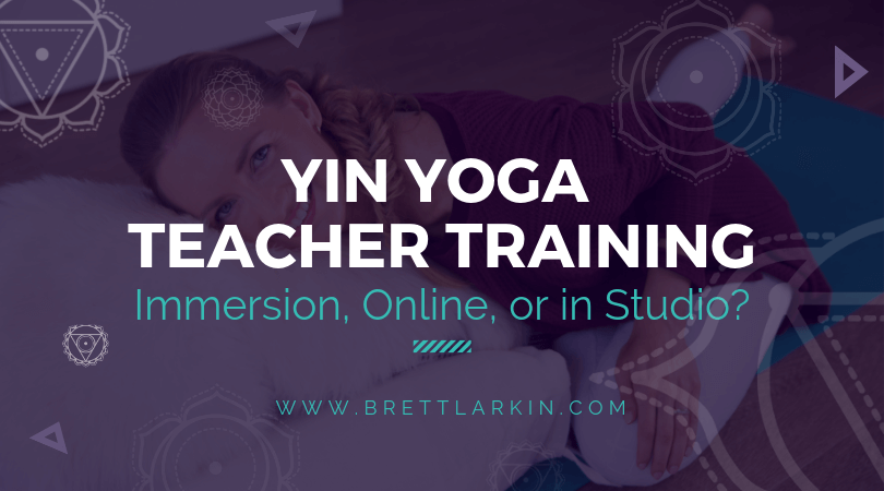 Yin Yoga Teacher Training Certification: Immersion, Online, or in Studio