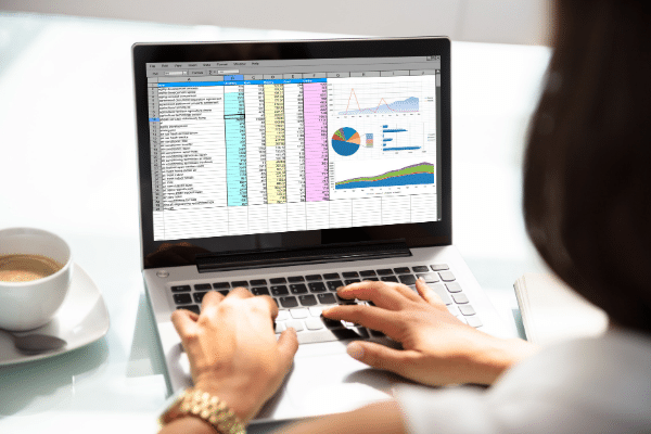 using spreadsheets for filing taxes as an independent contractor