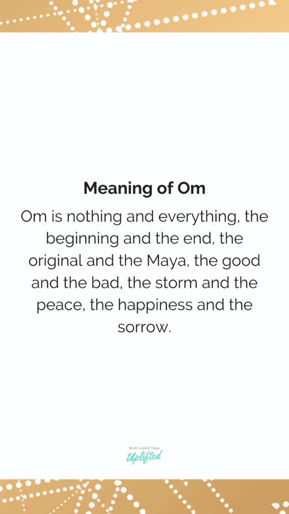 meaning of om definition