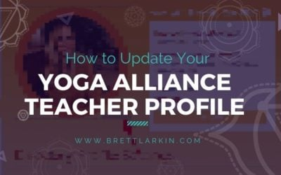 How to Update Your Yoga Alliance Teacher Profile Step-by-Step